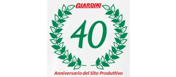 40 anni giardini spa pozzuolo