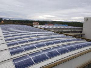 impianto fotovoltaico di giardini spa